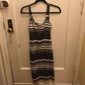 Striped American Apparel dress